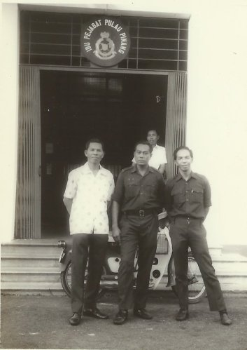 my grandfather (center)