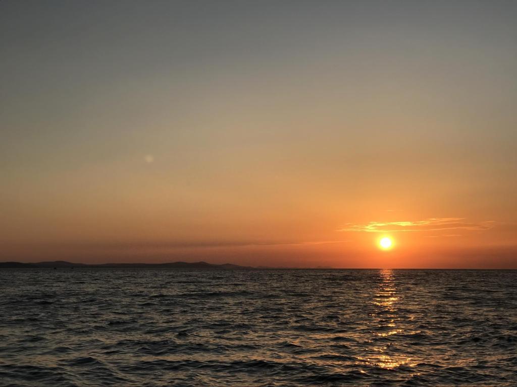sunset Sea Organ Zadar Croatia