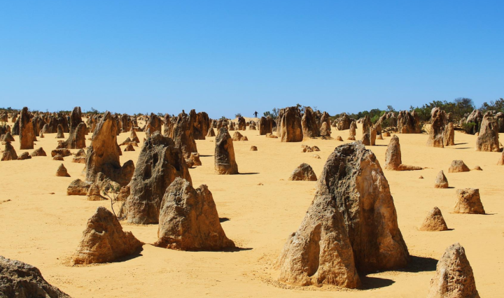 Western Australia Pinnacles desert